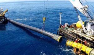 North Cyprus News - Laying Undersea Pipeline